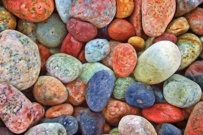 stones multicolour