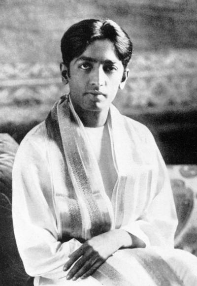 Krishnamurti young