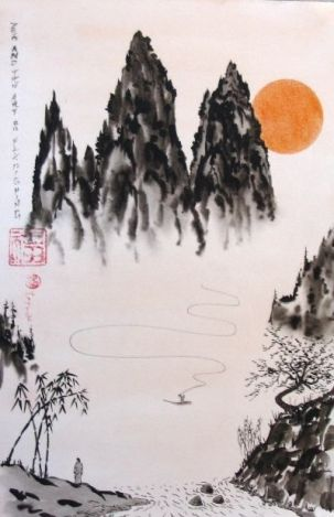 zen mountains