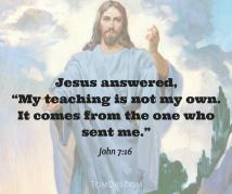 jesus-my-teaching-is-not-my-own