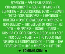 Freedom synonyms green 2