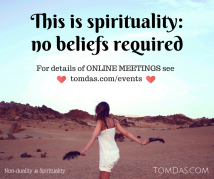 This is spirituality meetings