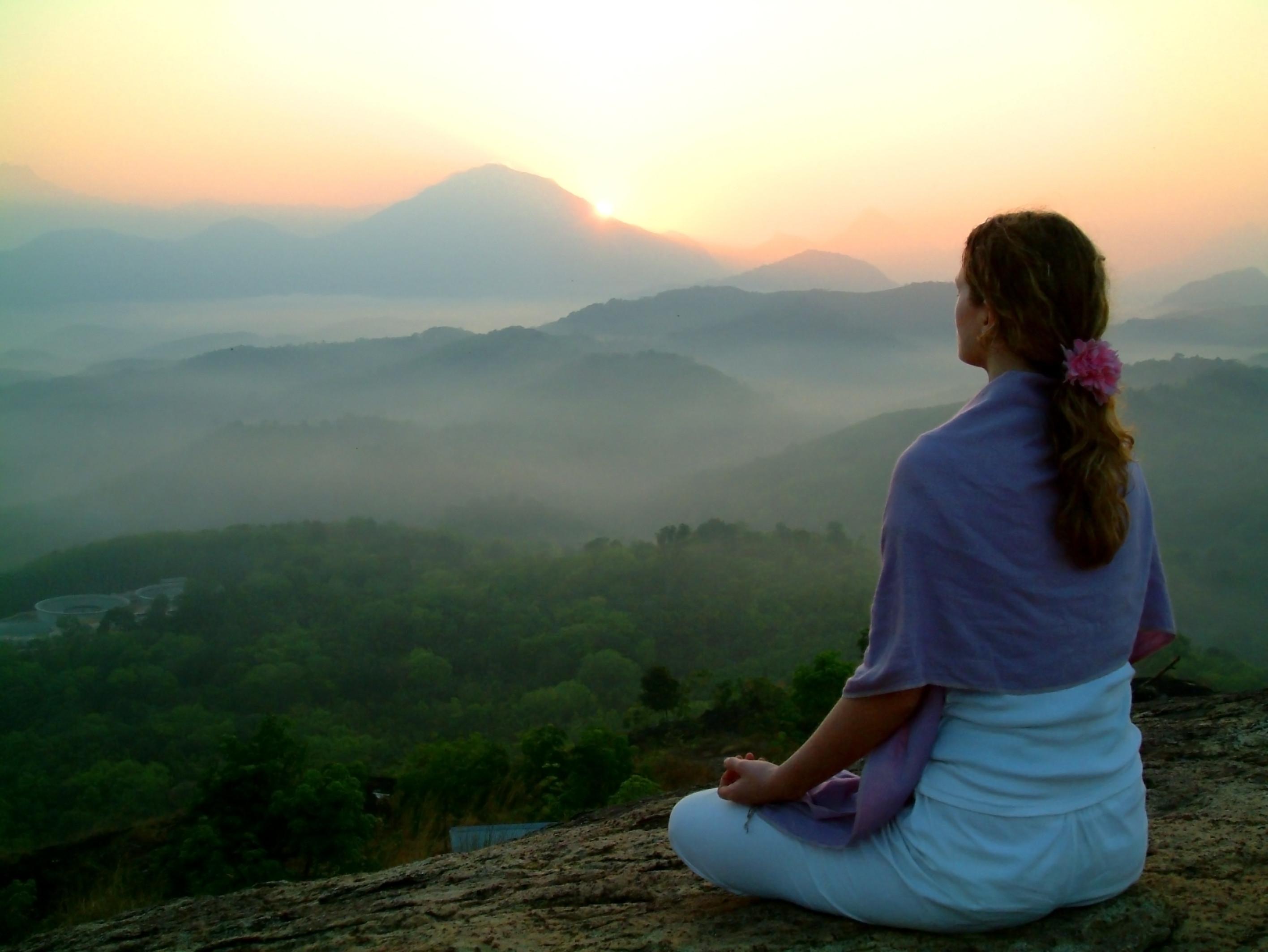 meditation advaita om self-realisation