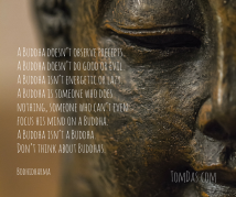 Bodhidharma Don_t think about Buddhas.
