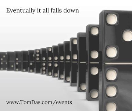 Eventualliy it all falls down
