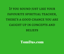 If you sound just like your favourite spiritual teacher
