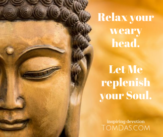 Let Me replenish your Soul