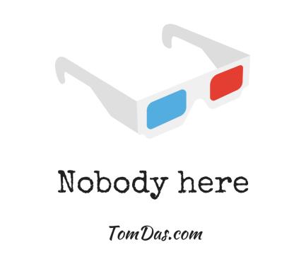 Nobody here