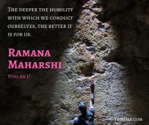 Ramana humility