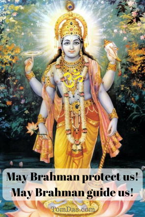 Vishnu May Brahman protect us