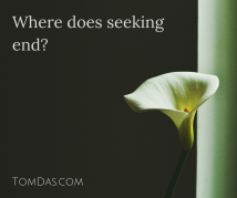Where does seeking end
