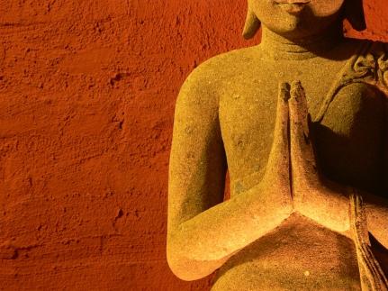 namaskaram namaste prayer buddha