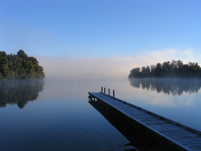 Lake calm new zealand meditation nonduality