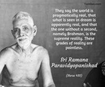 ramana - grades of reality