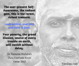 ramana look within and hold fast to self-awareness
