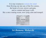 ramana maharshi true wisdom