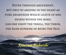 ramana never through arguement2