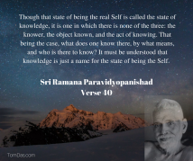 ramana no knowledge