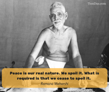 ramana peace is our real nature