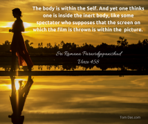 ramana the body is within the self