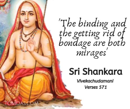 Shankara bondage is a mirage