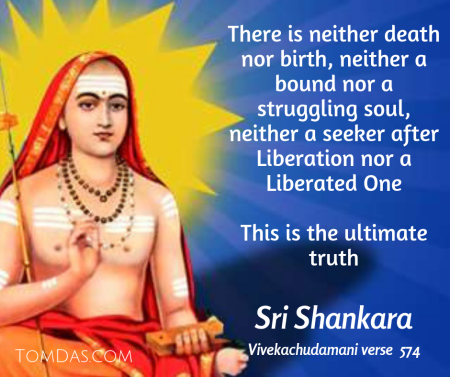Shankara no seeker no liberation