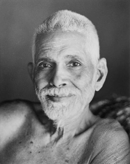 ramana-maharshi face