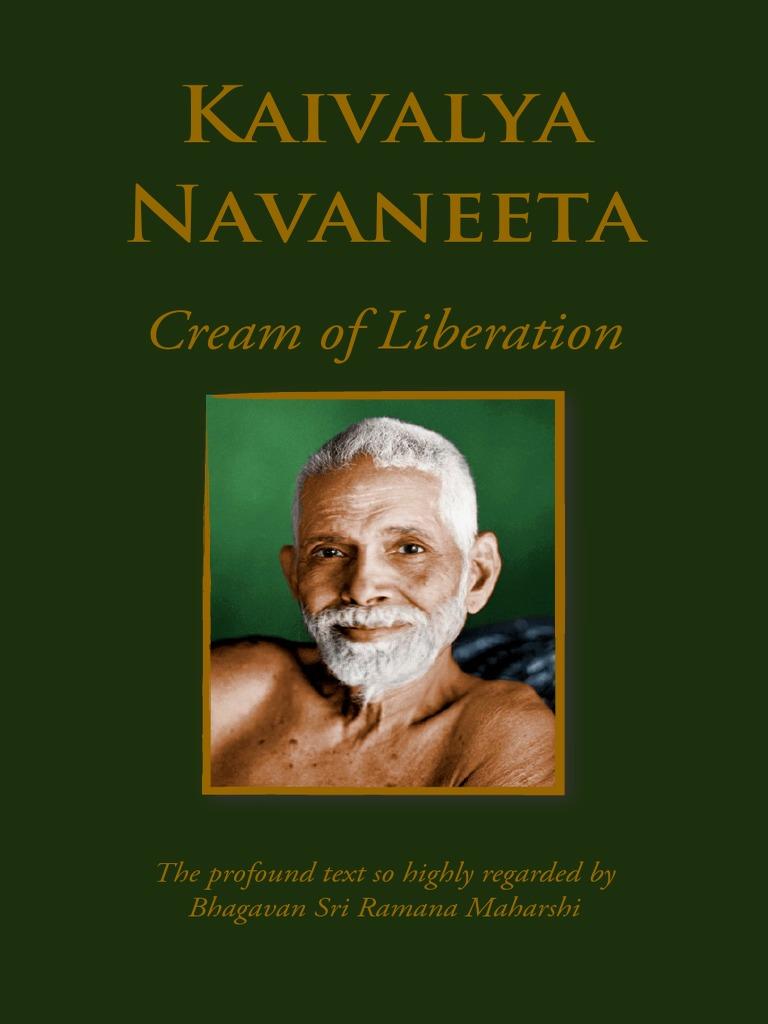 Kaivalya Navaneeta front cover ramana