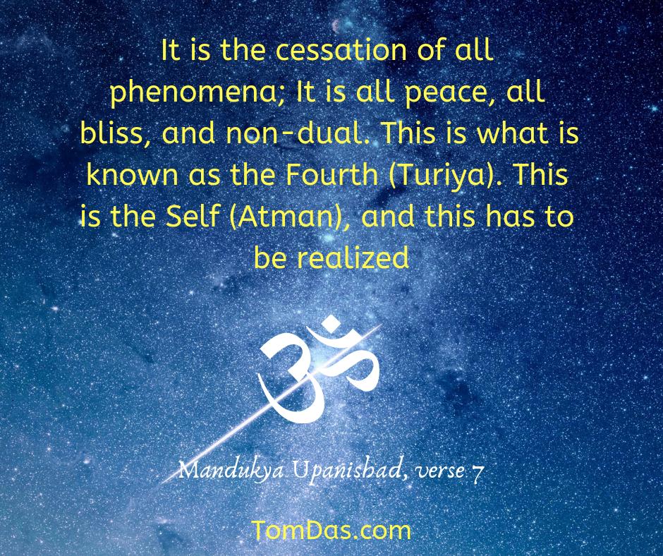 Mandukya Up cessation of all phenomena