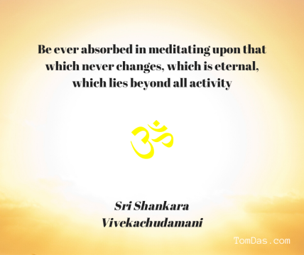 Shankara meditates on that which never changes